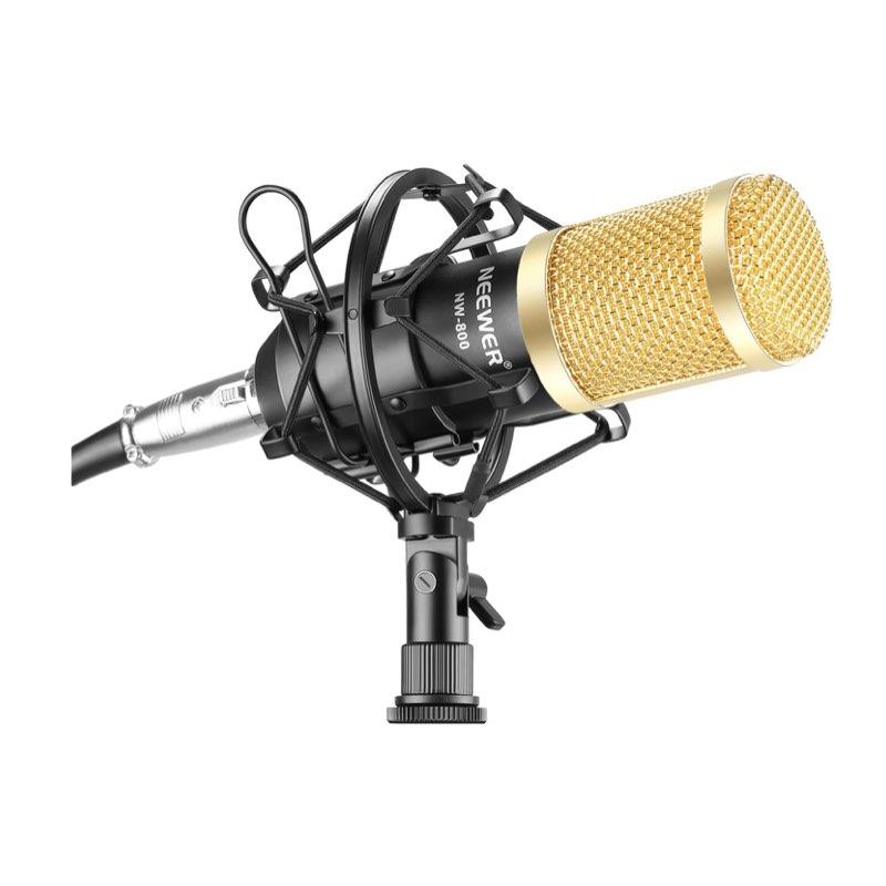 Micrófonos no recomendables para podcasting - Neewer NW-800 o similares