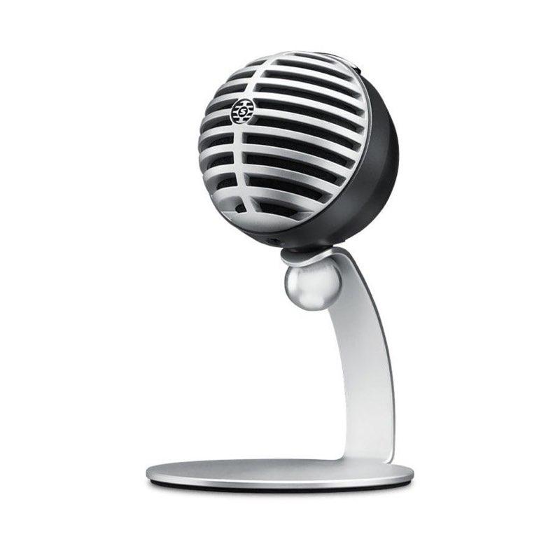 Micrófonos no recomendables para podcasting - SHURE MV5