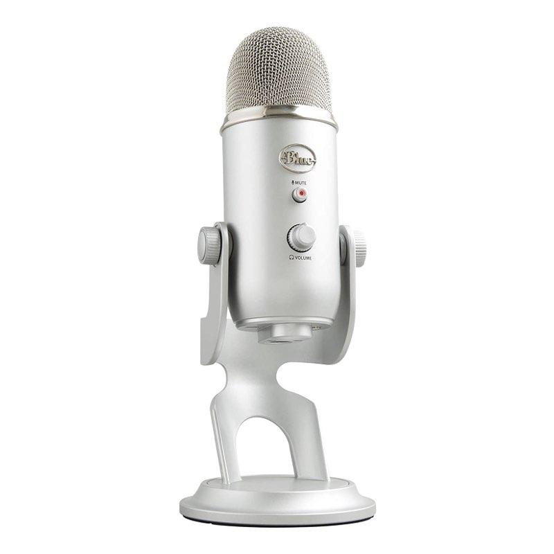 Micrófonos no recomendables para podcasting - Blue Microphones Yeti USB