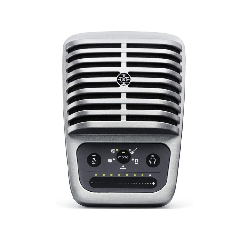 Micrófonos no recomendables para podcasting - SHURE MV51