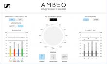 Ambeo A-B Converter Produce Audio