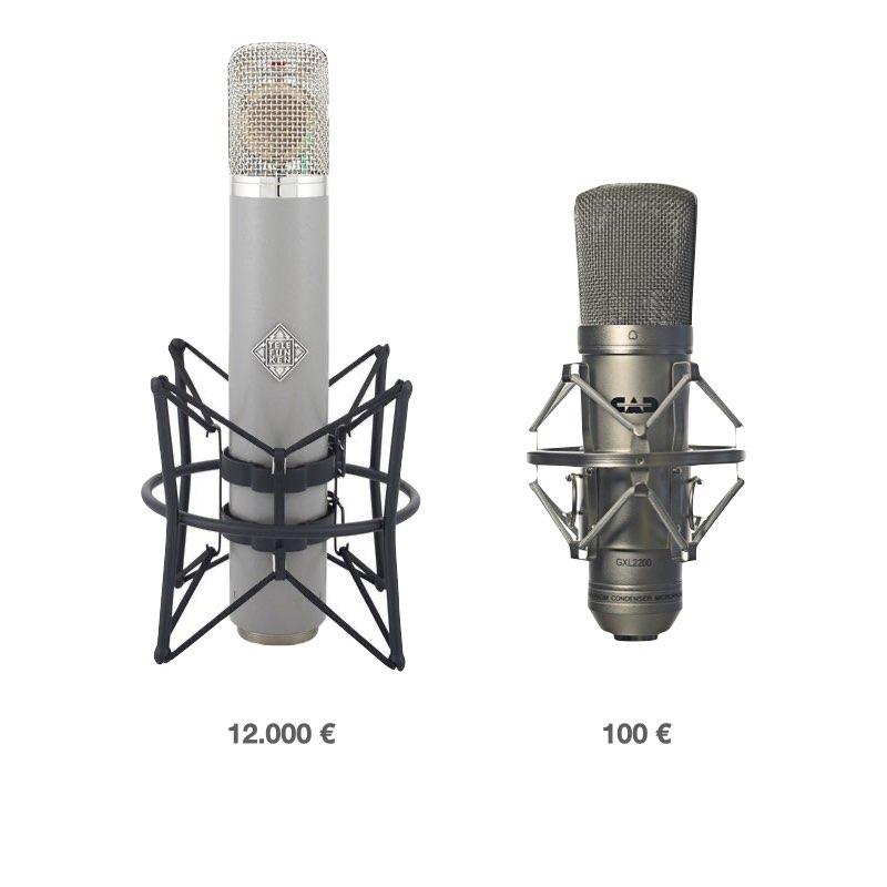 precio del micrófono