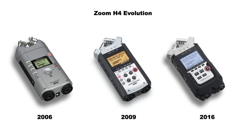 Evolución de la Zoom H4