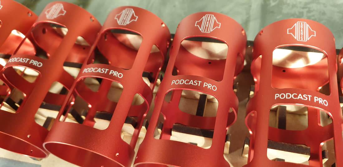 Sontronics Podcast Pro Grabado a laser