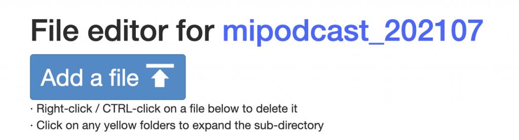 Subir tu podcast a Archive.org